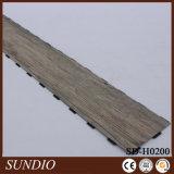 Pavimentazione di plastica del vinile del PVC della pavimentazione di legno laminata dell'interno del hickory