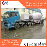 rimorchio del camion della betoniera di 3axles 2axles 16m3 con il generatore diesel