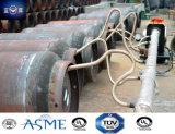 bombola per gas appiattita media della saldatura di acciaio di pressione 1000L