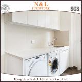 N及びL白く光沢度の高いラッカー洗濯のキャビネット部屋