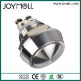 IP67 делают однократно Self-Locking переключатель водостотьким кнопка нержавеющей стали