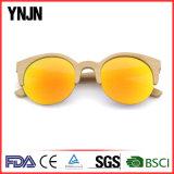Модные стекла Sun половинной рамки Ynjn поляризовыванные деревянные