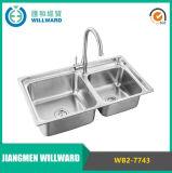 Kitchenware elevado da certificação de Cupc da quantidade do modelo Wb2-7743