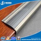 Flair en aluminium d'escalier d'anti de glissade de carborundum nez d'escalier