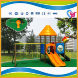 O mais novo design Hot Selling Plastic Outdoor Playground for Children (HAT-017)