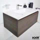 Kingkonreeの大理石のカウンタートップの浴室用キャビネットの洗面器(B1612137)