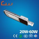 Luz de calle solar ahorro de energía de 30W 60W LED con poste