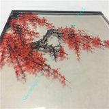 Подгонянное цветное стекло/напечатанное стеклянное/декоративное стекло стекла/корабля/искусствоо стеклянное с китайским типом