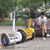 Bici eléctrica de la suciedad del balance del uno mismo de la vespa del motor eléctrico de V6+