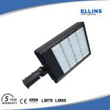 iluminación montada ajustador 150W del estacionamiento del resbalón LED de la garantía 5years