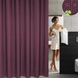 tenda di acquazzone impermeabile della stanza da bagno del jacquard della cialda 100%Polyester
