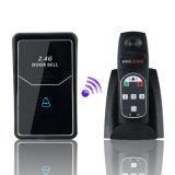 2.4G de digitale Draadloze Verre Radio van de Klok van de Deur van het Systeem van de Intercom opent
