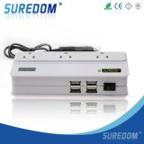 USB*4 Socket*3 200W Energien-Inverter