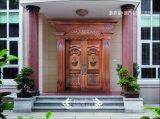 Дверь меди обеспеченностью конструкции парадного входа Coppman Handmade