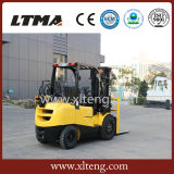 Tonelada nova China LPG do projeto ambiental 3.5 e Forklift da gasolina