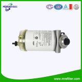 Hacer girar-en la asamblea del filtro R90p con el separador de agua de la taza y del combustible de la base