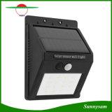 옥외 정원 잘 고정된 태양 램프 16LED는 태양 벽 빛을 방수 처리한다