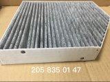 Piezas de automóvil 205 835 01 filtro de aire de 47 cabinas para el Benz S205
