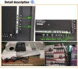 "32 "" FHD LED astuto di vetro d'acciaio TV con DVB-T2"