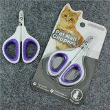 Ножницы клиперов ногтя собаки кота лезвия триммера клиперов ногтя кота острые Angled