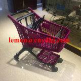 Neues Art-Supermarkt-Einkaufen-Plastiklaufkatze-Karre