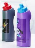Il PE mette in mostra le bottiglie, bottiglia di acqua di plastica (R-1162)