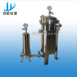 Фильтр мешка нержавеющей стали одиночный для фильтровать гальванизирует жидкость