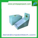 광택이 없는 박판 엄밀한 마분지 편평한 팩 포장 전시 상자를 인쇄하는 주문 로고