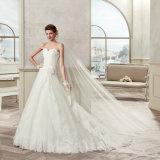 Шнурок Tulle lhbim высокого качества Appliques платье венчания 2017
