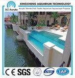 Hechos a la medida de acrílico piscina privada para Villa