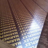 Triplex van de Lijm van de Melamine WBP het Zwarte Bruine Film Onder ogen gezien voor Bouw van Fabriek