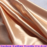 tessuto del raso di stirata dello Spandex del vestito dal pannello esterno tinto poli filato 50d
