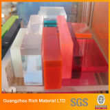 Dikke Clear&Color goot de Acryl Plastic Raad van het Plexiglas van het Blad
