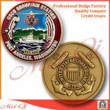 記念品の金属の硬貨