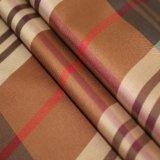 tela teñida hilado de la tela escocesa del Cuatro-Color de la tela cruzada 50d para la alineación de la ropa