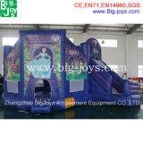 inflatable Bouncy Castle 의 작은 뛰어오르는 성곽 싼 공주