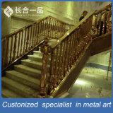 Corrimano dell'interno/Rainling dell'Europa e di alta qualità di disegno dell'acciaio inossidabile delle scale