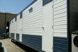 Стальная дверь для дома контейнера плоского пакета (CHAM-TD02)