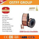 Fio de soldadura da alta qualidade Er70s-6 0.6mm 5kg/Spool MIG