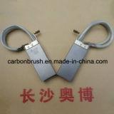 Escova de carbono CG626 para os motores do gerador das energias eólicas