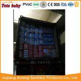 Os tecidos do bebê de Fujian China secam tecidos descartáveis do bebê do tecido do bebê