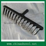 Головка сгребалки сада зубов закрутки головки сгребалки