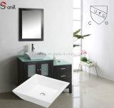 Lavandino di ceramica della contro parte superiore di disegno moderno per la stanza da bagno, bacino esterno Sn105-014 di arte di Cupc