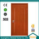 Porte affleurante de placage en bois simple de panneau de chêne pour la porte d'entrée avant