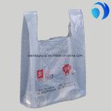 صنع وفقا لطلب الزّبون يطبع [هدب] بلاستيكيّة [ت-شيرت] حقائب