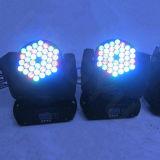 Luz del disco 36x3W LED Beam Cabeza Móvil