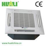 Tipo unidad del techo de la agua caliente de la bobina del ventilador para el sistema de la HVAC