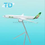 Gran pista de modelo de los aviones A330-200 Alitalia juguete modelo de resina