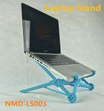 Heißer verkaufenlaptop-Standplatz-Blau-justierbarer Computer-Standplatz