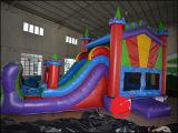 コンボ波のスライドを持つBouncy Jumping Castle膨脹可能な王女(T3520)